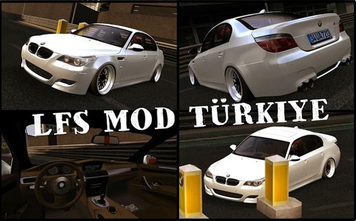 BMW M5 E60 – Live For Speed Mods
